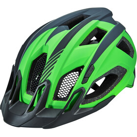 Cube Quest Kask, green/grey/black